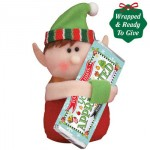 Elf with Chocolate Bar